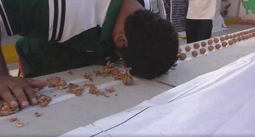 рекорд с грецкими орехами