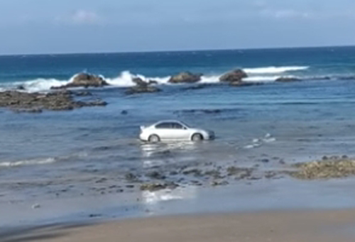 мойка шин на пляже