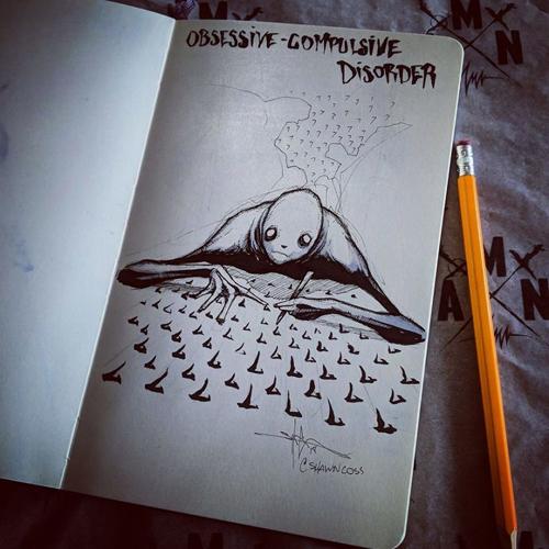 рисунки с расстройствами психики