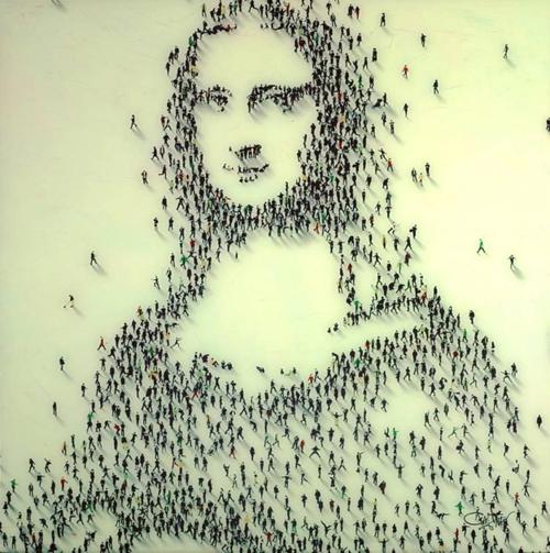 крошечные нарисованные человечки