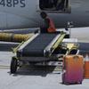 полёт в грузовом отсеке самолёта