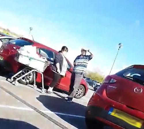 попытка открыть чужую машину