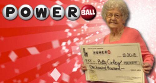 старушка выиграла в лотерею