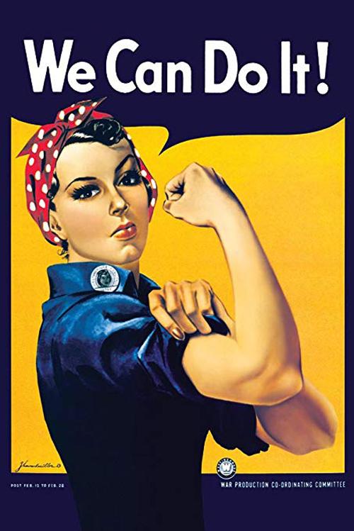 героиня знаменитого плаката