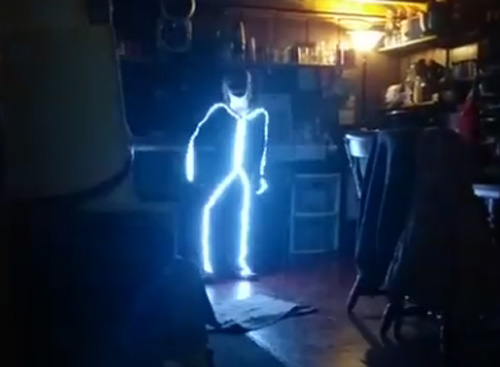 светящийся маскарадный костюм