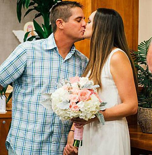 свадьба в больничной часовне