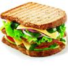 сэндвич в разобранном виде