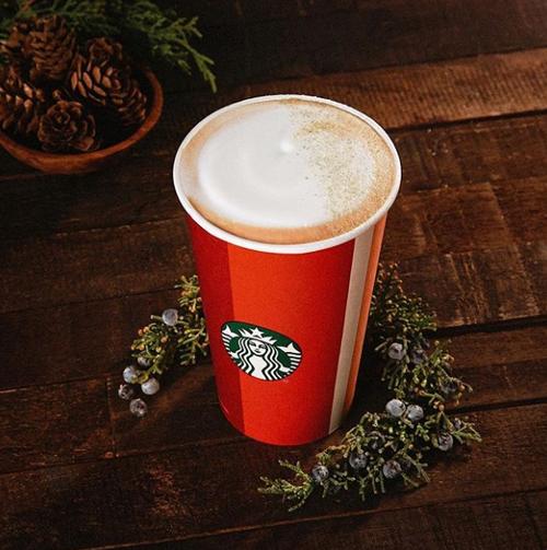 необычный рождественский кофе