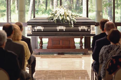подходящее платье для похорон