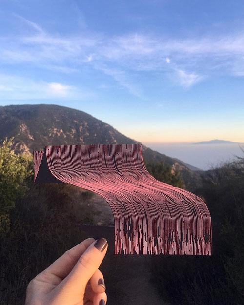 оптические иллюзии из линий