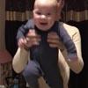 малыш танцует ирландскую джигу