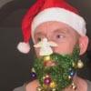 красивая борода к рождеству
