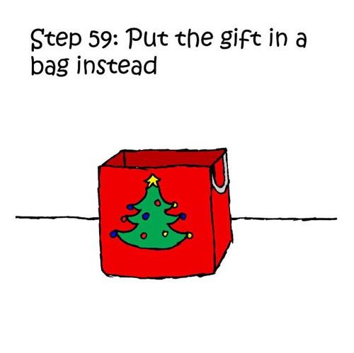 комикс про кошку и подарок