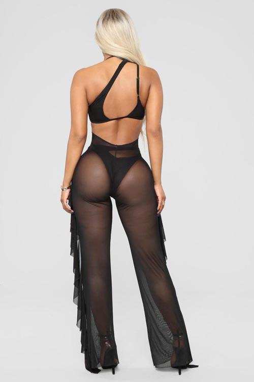 новые прозрачные брюки