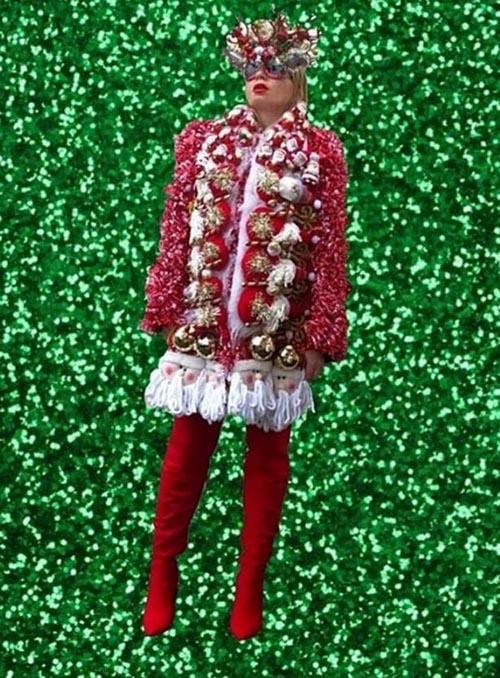 модельерша обожает рождество