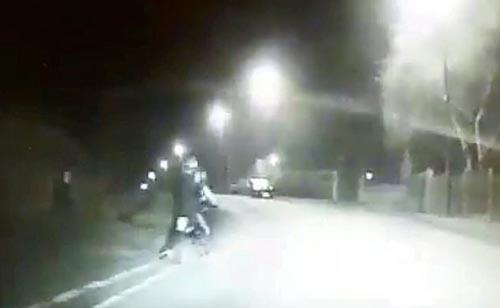 попытка удрать от полиции