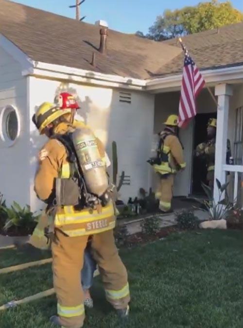 необычное предложение пожарного