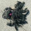 старый парик на дороге
