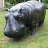 скульптуру бегемота украли