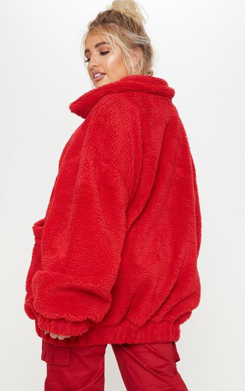 куртка свободного покроя