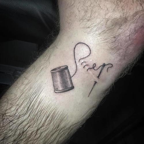 шрамы становятся частью татуировок