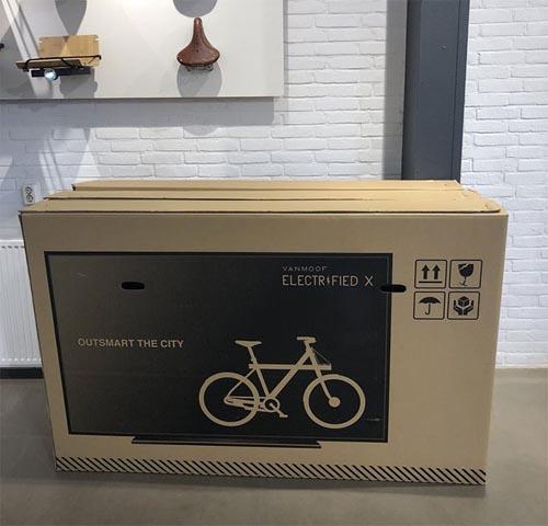 велосипеды в необычных коробках