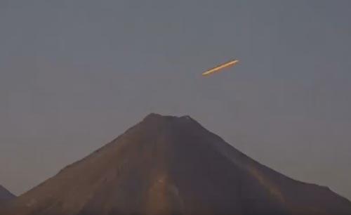 инопланетная база на вулкане