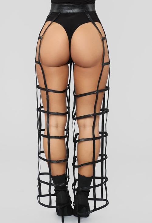 откровенные клетчатые брюки