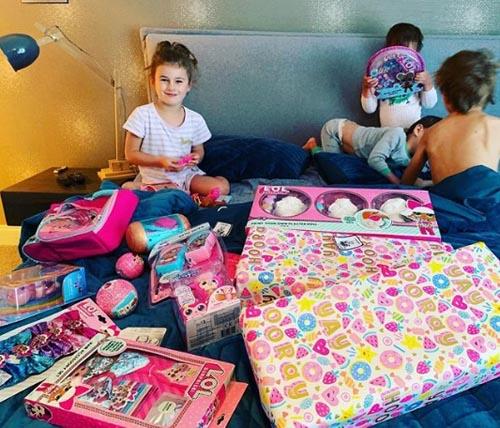 щедрая детская вечеринка