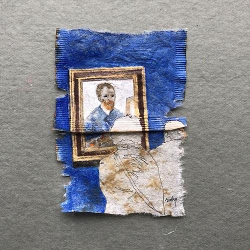 портреты посетителей музея
