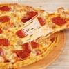 личинки уплетают пиццу