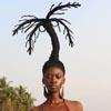 скульптуры из волос художницы