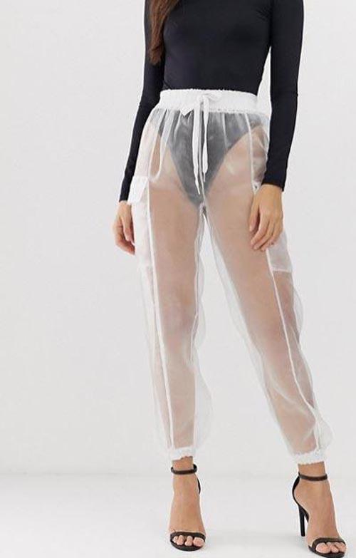 Прозрачные штаны видео, видео в колготках эротические