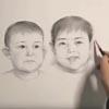 дети на портрете выросли