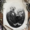 старый семейный фотоальбом