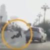 пешеход появился из ниоткуда