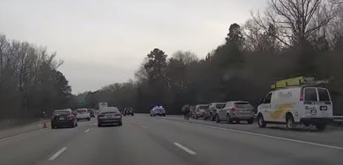 нетерпеливые водители на дороге