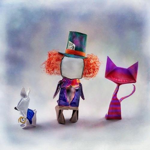 сочетание оригами и поп-культуры