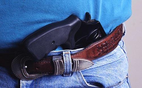владелец оружия без лицензии