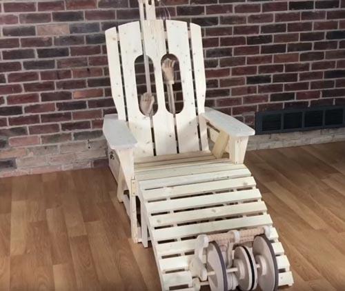 кресло умеет делать массаж