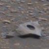 металлический предмет на марсе