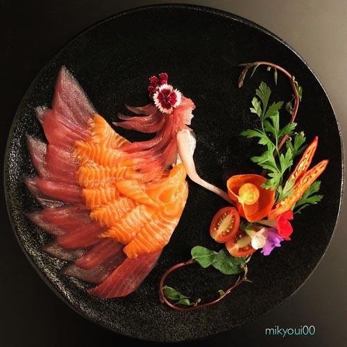 вкусная и красивая еда