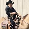 старушка прокатилась на лошади