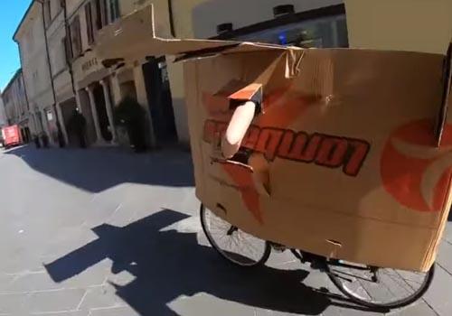 велосипед превратился в самолёт