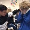 трогательная доброта школьников