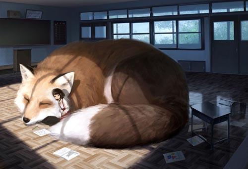 картины с гигантскими животными