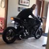 мотоцикл превратился в будильник