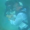 дайверы поженились под водой