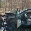авария из-за паука в машине