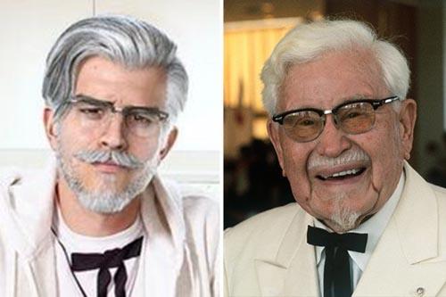 полковник изменил внешность
